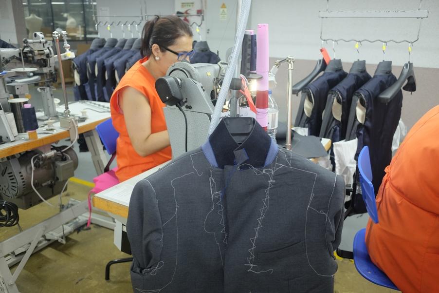 Produktion Maßbekleidung