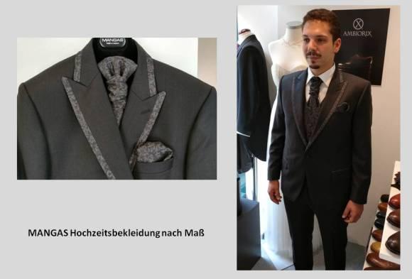 Hochzeitsbekleidung nach Maß